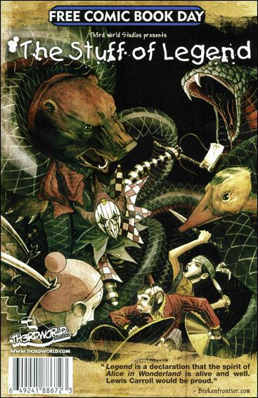 Mortal Instruments: City of Bones / The Stuff of Legend nn-A by Th3rd World Studios