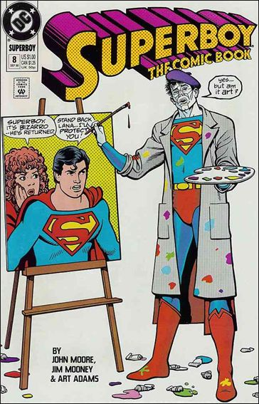 Superboy (1990) 8-A by DC
