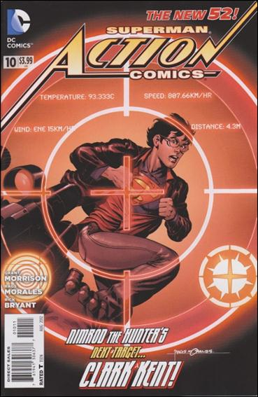 Action Comics (2011) 10-A by DC