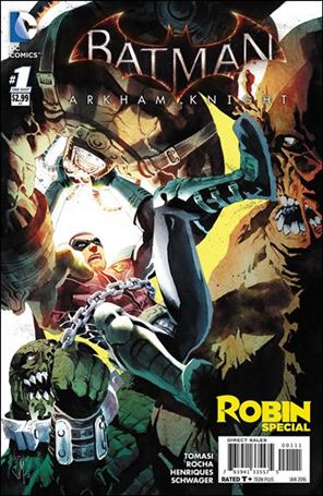 Batman: Arkham Knight: Robin Special 1-A