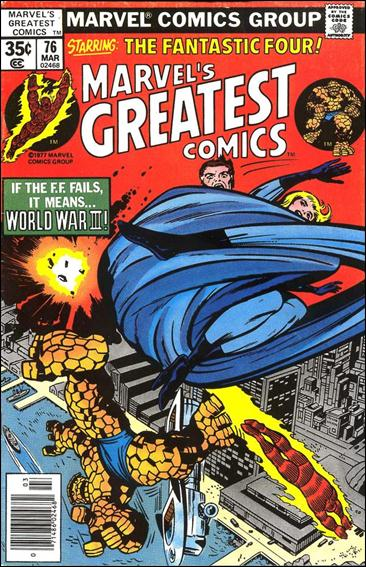 Marvel's Greatest Comics 76-A by Marvel