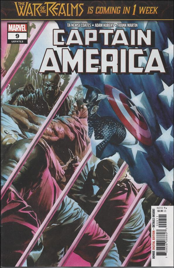Captain America (2018) 9-A by Marvel