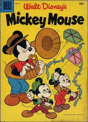 Walt Disney's Mickey Mouse 47-A
