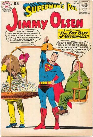Superman's Pal Jimmy Olsen 49-A by DC