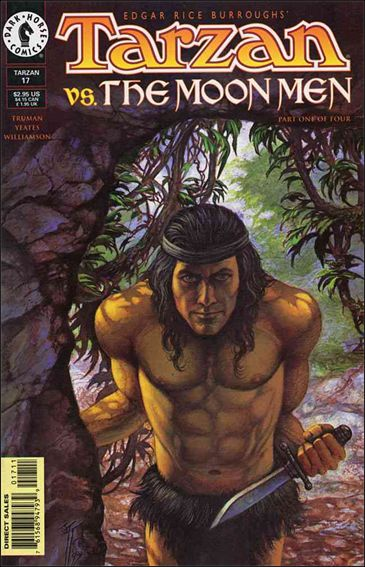 Tarzan (1996) 17-A by Dark Horse