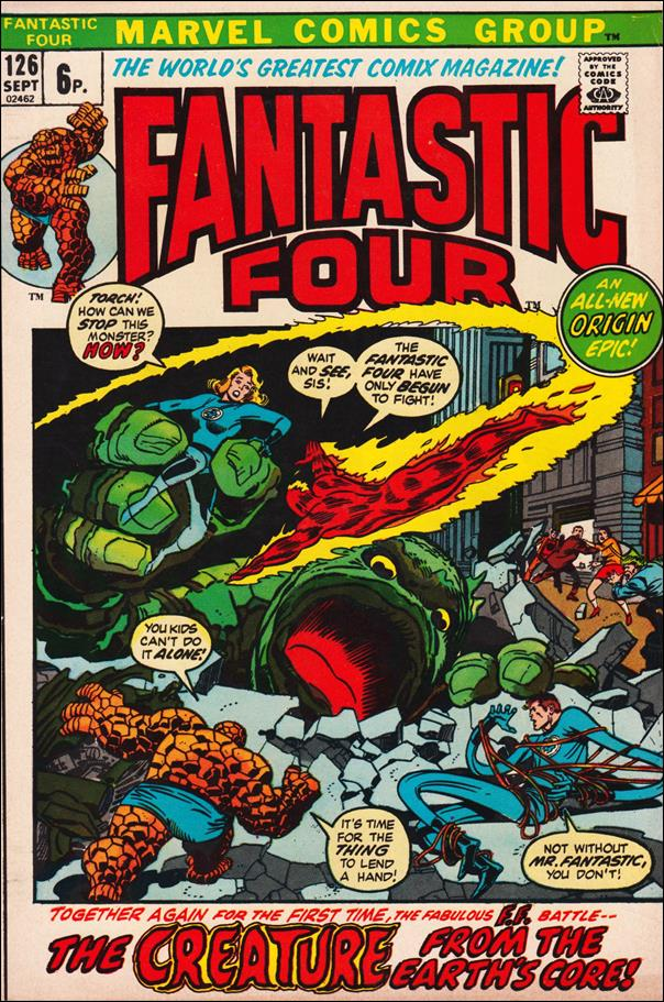 Fantastic Four (1961) 126-B by Marvel