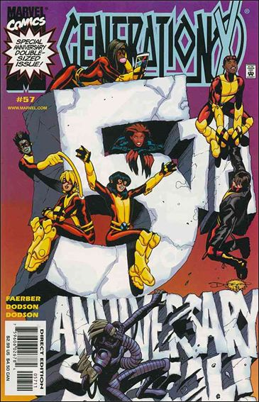 Generation X (1994) 57-A by Marvel