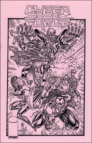 Cyberforce Ashcan Preview  Ashcan-B by Image