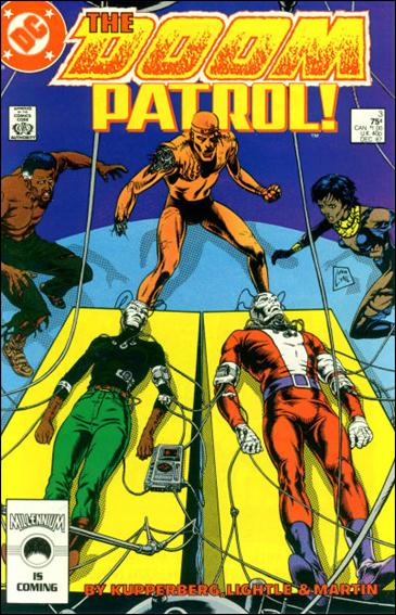 Doom Patrol (1987) 3-A by Vertigo