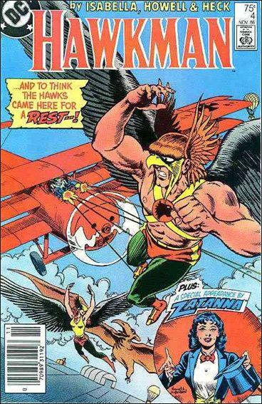 Hawkman (1986) 4-A by DC