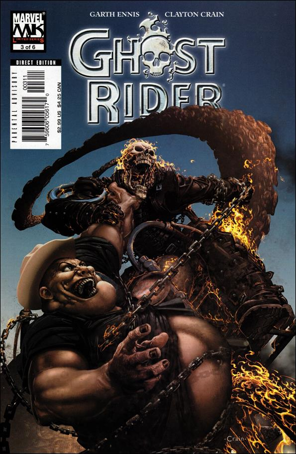 Ghost Rider (2005) 3-A by Marvel