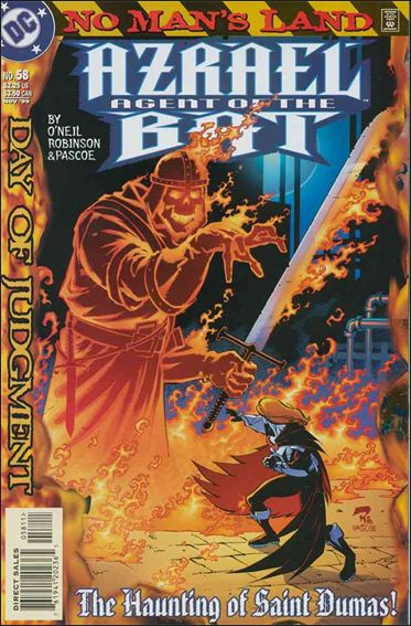 Azrael (1995) 58-A by DC