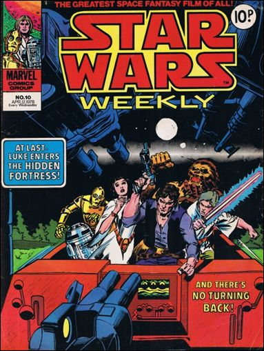 Star Wars Weekly (UK) 10-A by Marvel UK
