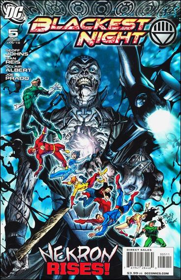 Blackest Night 5-A by DC