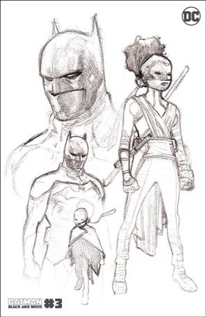 Batman Black and White (2021) 3-D