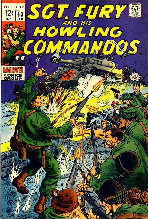 Sgt. Fury and His Howling Commandos 63-A by Marvel