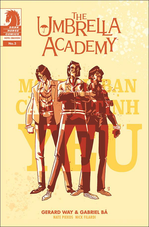 Umbrella Academy: Hotel Oblivion 3-B by Dark Horse