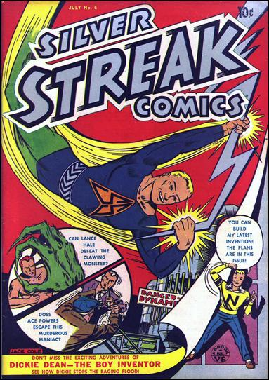 Silver Streak Comics (1939) 5-A by Lev Gleason Productions