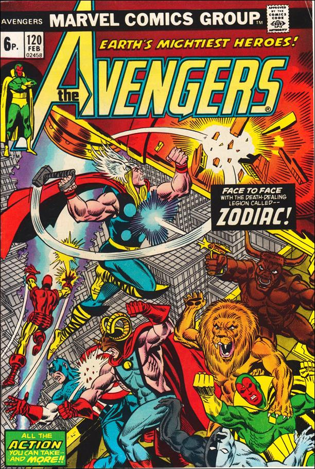 Avengers (1963) 120-B by Marvel