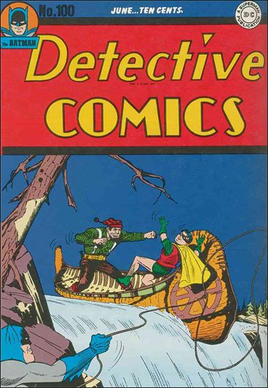 Detective Comics (1937) 100-A by DC