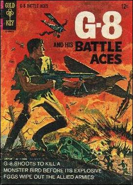 G-8 and His Battle Aces (1966) 1-A by Gold Key