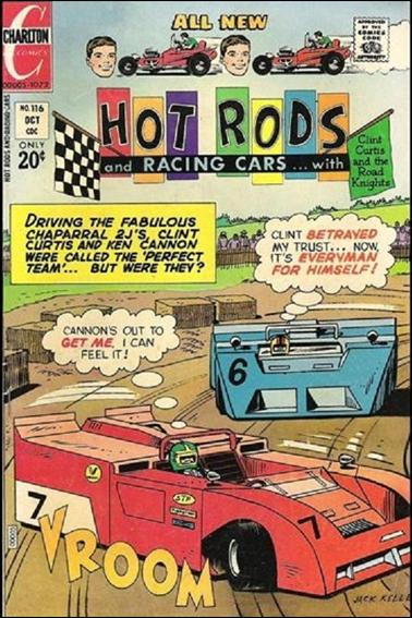 Hot Rods and Racing Cars 116-A by Charlton