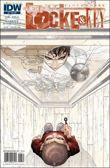 Locke &amp; Key: Clockworks 3-B by IDW