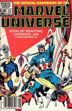 Official Handbook of the Marvel Universe (1983) 15-A