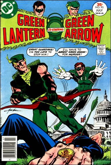Green Lantern (1960) 95-A by DC