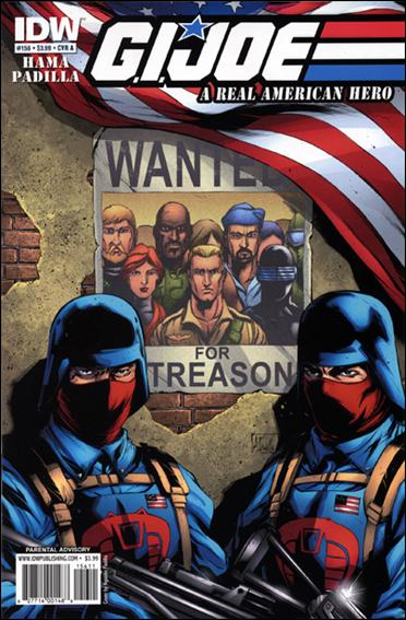 G.I. Joe: A Real American Hero 156-A by IDW