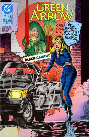 Green Arrow (1988) 7-A by DC