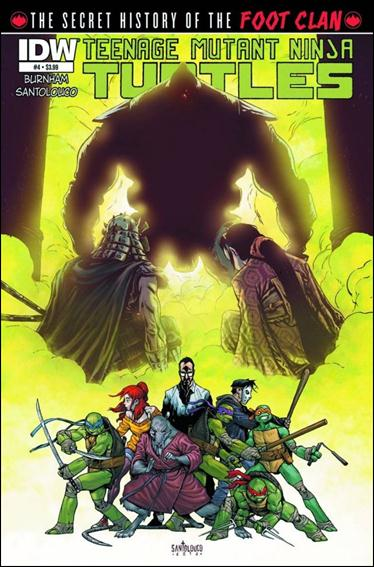 Teenage Mutant Ninja Turtles: The Secret History of the Foot Clan 4-A by IDW