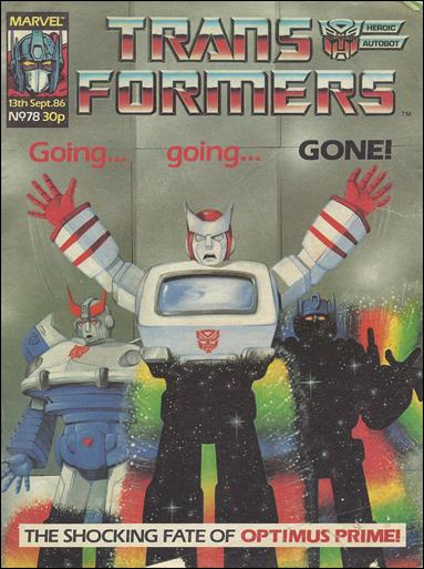 Transformers (UK) 78-A by Marvel UK