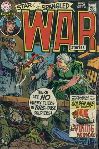 Star Spangled War Stories (1952) 150-A by DC