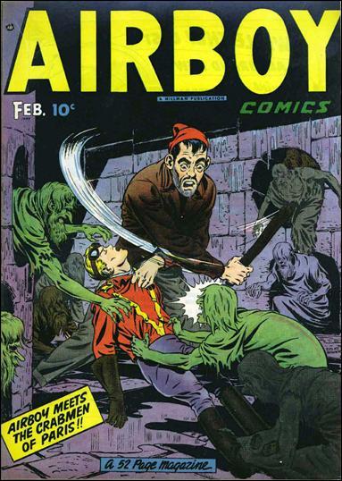 Airboy Comics (1949) 1-A by Hillman
