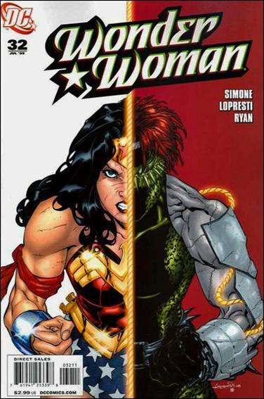 Wonder Woman (2006) 32-A by DC