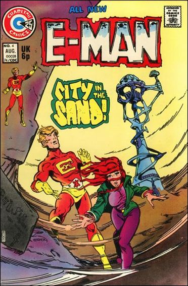 E-Man (1973) 4-A by Charlton