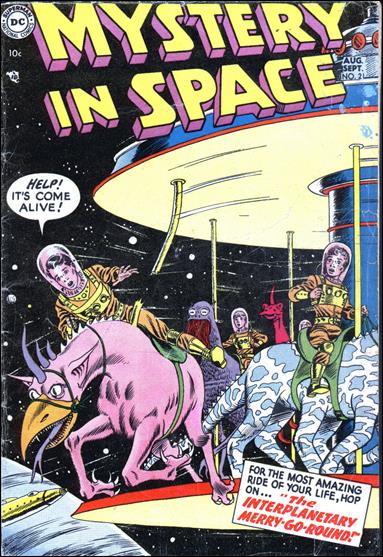 Mystery in Space (1951) 21-A by DC