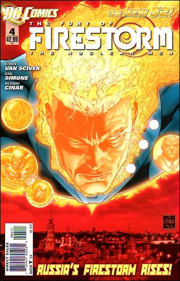 Fury of Firestorm: The Nuclear Men 4-A by DC