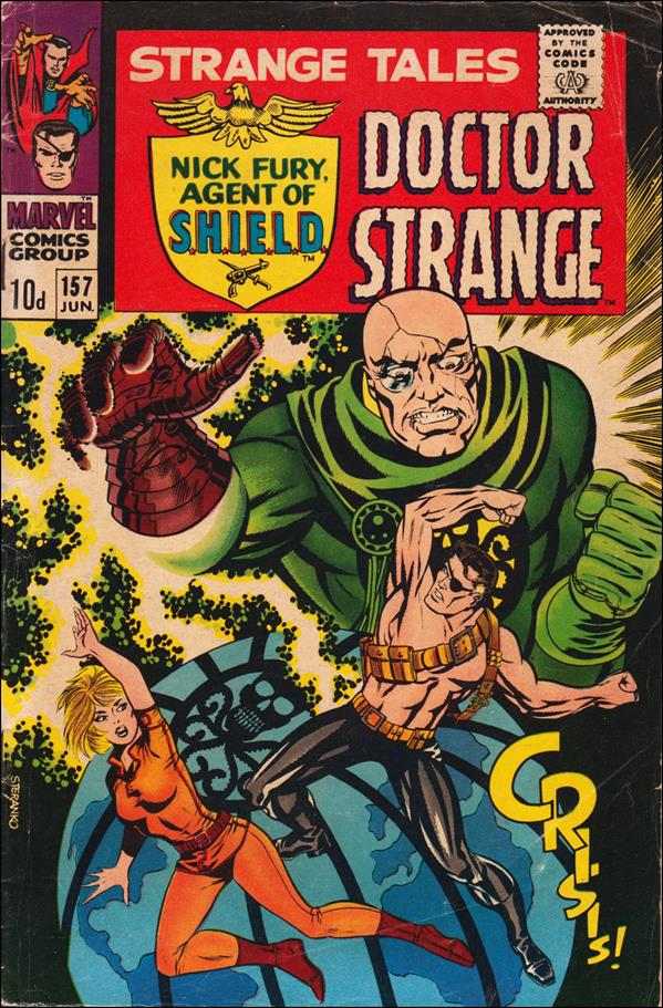 Strange Tales (1951) 157-B by Marvel