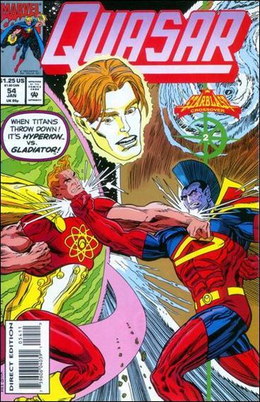 Quasar 54-A by Marvel