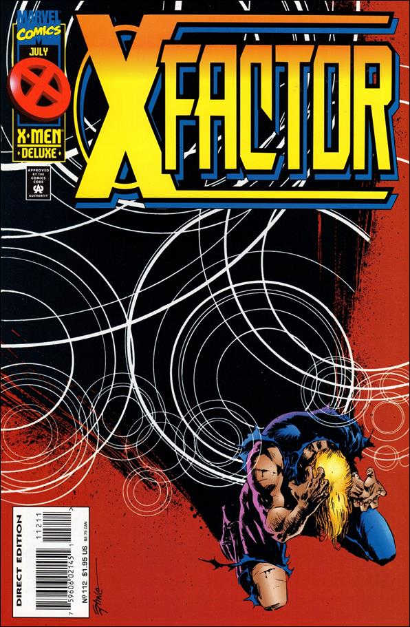 X-Factor (1986) 112-A by Marvel