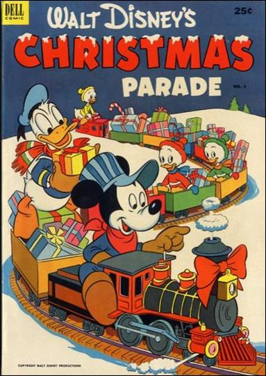 Walt Disney's Christmas Parade (1949) 4-A by Dell