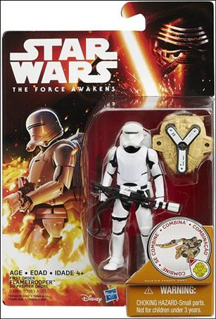 "Star Wars: The Force Awakens 3 3/4"" Basic Action Figures First Order Flametrooper"