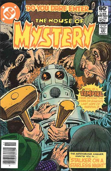 House of Mystery (1951) 298-A by DC