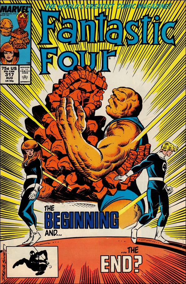 Fantastic Four (1961) 317-A by Marvel