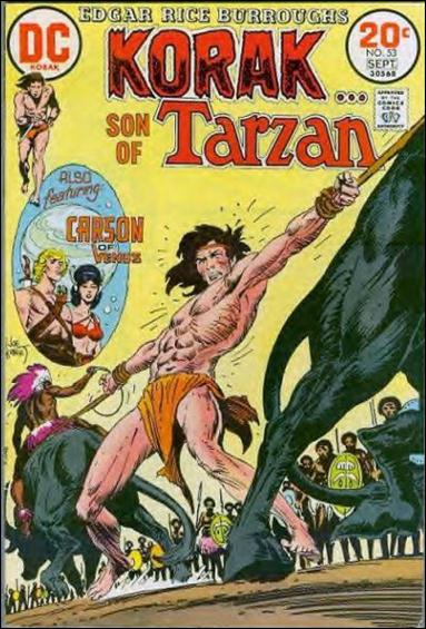 Korak, Son of Tarzan 53-A by DC