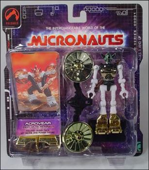 Micronauts (Series 1) Acroyear (Gold)