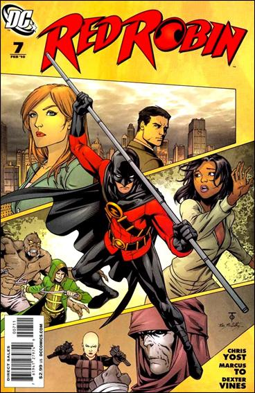 Red Robin 7-A by DC