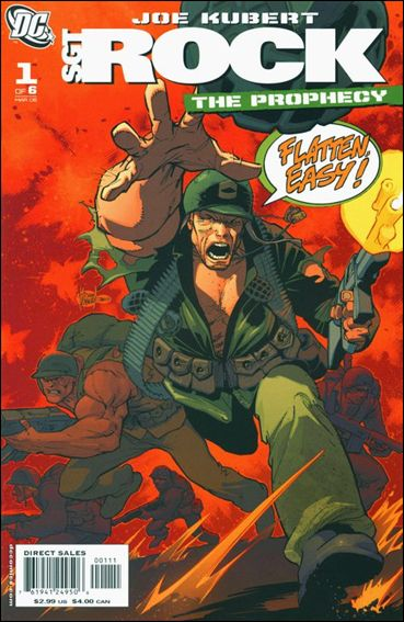 Sgt. Rock: The Prophecy 1-B by DC